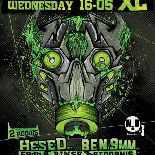 Stoornis (live) @ Foorcore XL, Bosuil, Deurne (16-05-12)