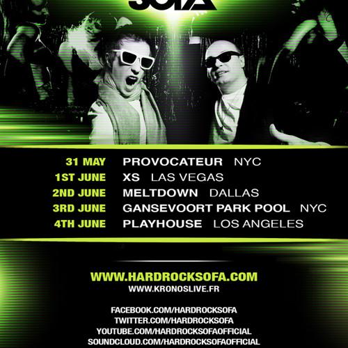 Hard Rock Sofa - May 2012 Podcast