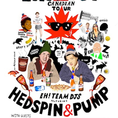 Hedspin & Pump live at Happy Ending Fridays