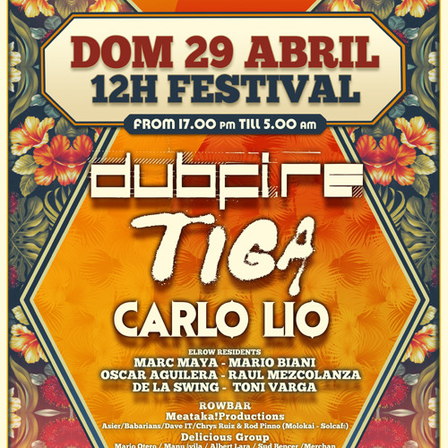 Dubfire & Carlo Lio Live @ elrow happy sundays 1/2
