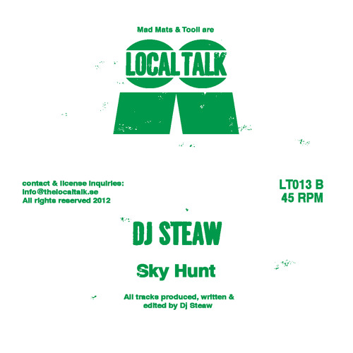 DJ Steaw - Sky Hunt (LT013, Side B)