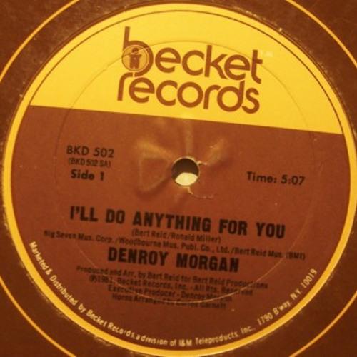 Denroy Morgan  - I'll do anything for you- chewy rub