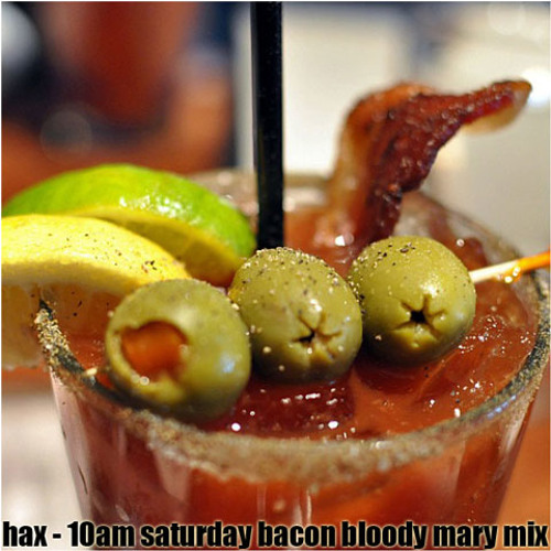 10am saturday bacon bloody mary mix