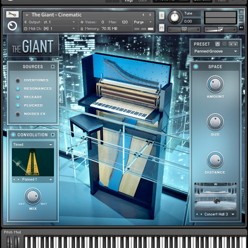 Hands On -Native Instruments The Giant-