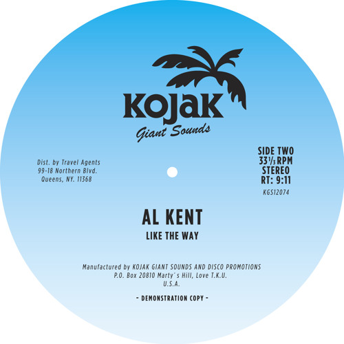 "Al Kent - ""Like The Way"""