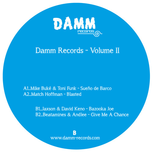 MIKE BUKÉ & TONI FUNK - SUEÑO DE BARCO (ORIGINAL MIX) / Various Artists Vol. 2 / damm022