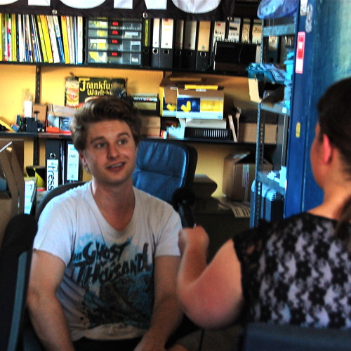 Interview mit Steven Ansell – Blood Red Shoes