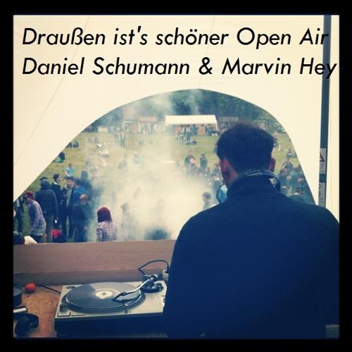 Daniel Schumann & Marvin Hey at Draußen ist's schöner 130512