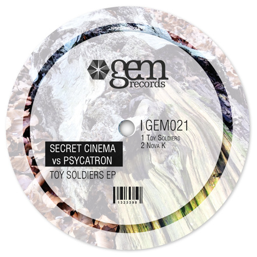 Secret Cinema & Psycatron - Toy soldiers | Gem Records 2012