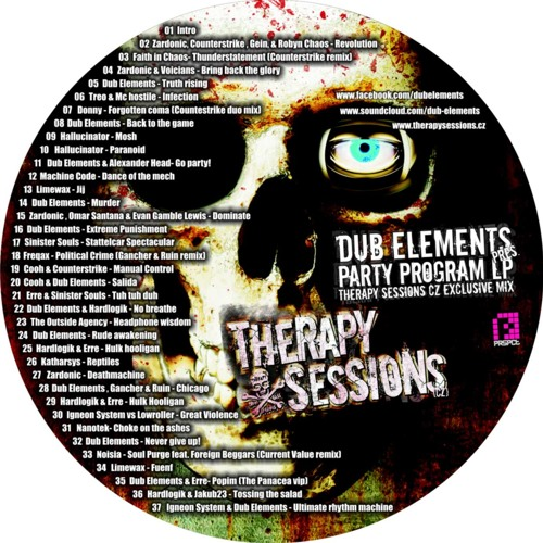 Therapy Sessions CZ Exclusive Mix 2012 by Dub Elements - Party Program LP special