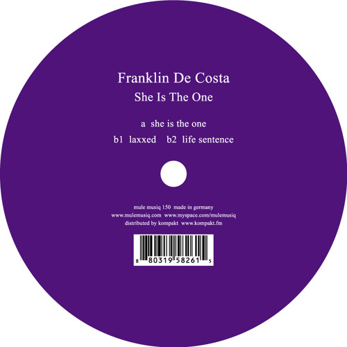 Franklin De Costa - She Is The One Ep - Mule Musiq 150 (preview) Out now!
