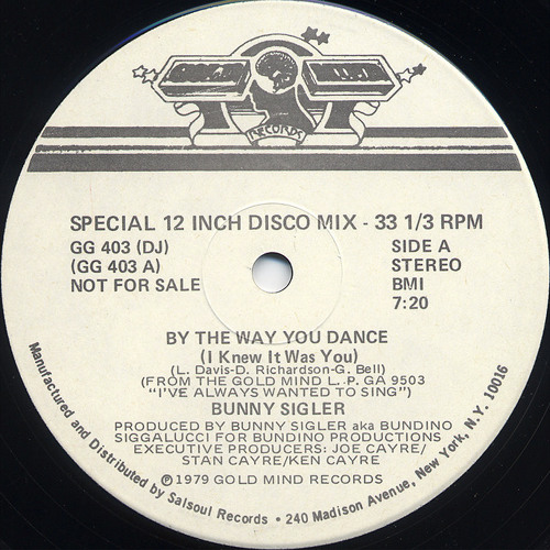 By The Way You Dance (Nude Disco & Paul Harris Remake) - Bunny Sigler