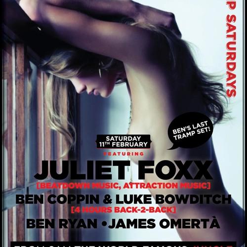 Juliet Fox - LIVE @ TRAMP (Melbourne, Australia) 11.02.12