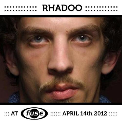 Rhadoo - Fuse Brussels 14/04/2012