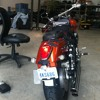 Honda VTX1300 motorcycle Mixed onboards