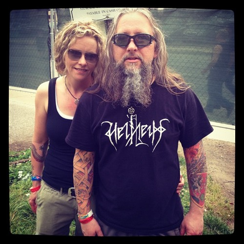 Linda and Todd from Minneapolis: Maryland Deathfest Portrait