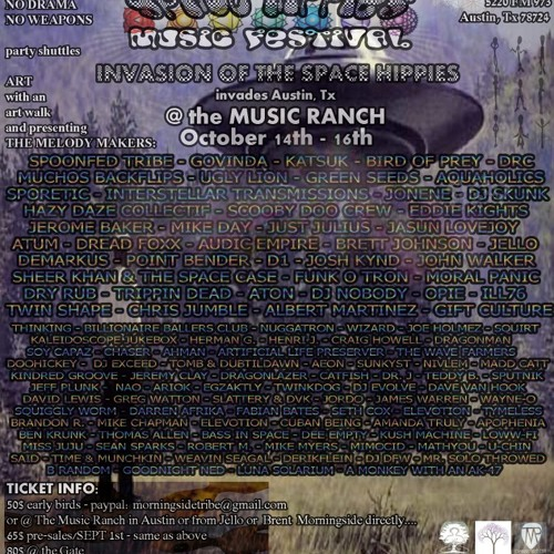 Space Hippies 4-(Missing Persons File)-Dj Dave Van Hook-10/(16-18)/12