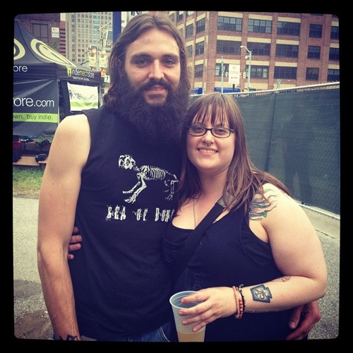 Evan and Shannon from Philly: Maryland Deathfest Portrait