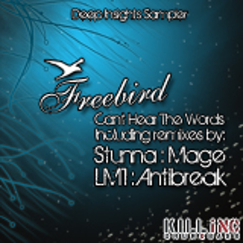 Freebird - Can't hear the words (Antibreak's Surgar Caine Remix)  [KINC044] out now