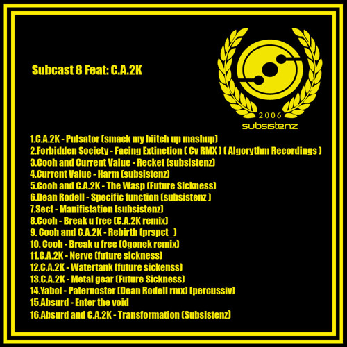 C.A.2K - Subcast 08 - Subsistenz Edition