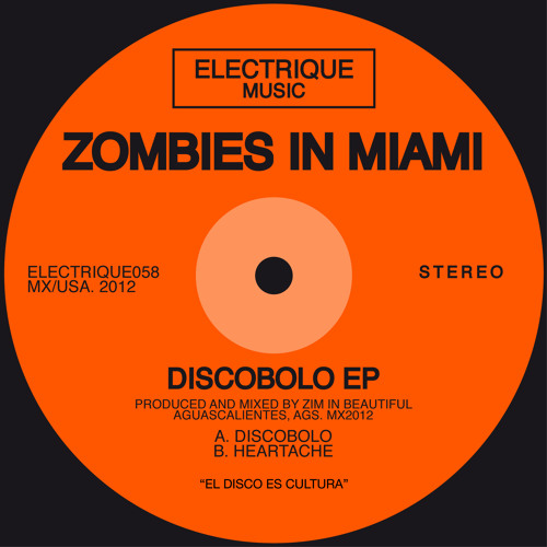 Zombies in Miami - Discobolo (Original Mix)