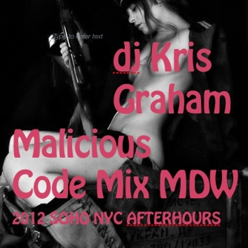 Memorial Day 'Malicious Code' Mix Soho NYC DJ Kris Graham 05-28-12