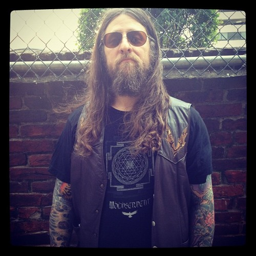 YOB's Mike Scheidt from Eugene, Oregon: Maryland Deathfest Portrait