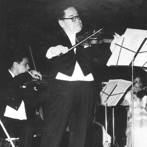 Ponce. Concierto para violín y orquesta. Solista: Higinio Ruvalcaba.