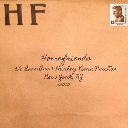 Homefriends - Ross One & Harley Viera-Newton