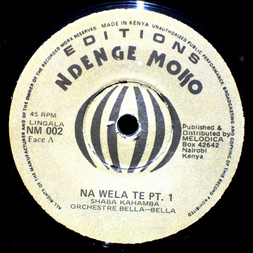 Orchestre Bella-Bella- Na wela te 1