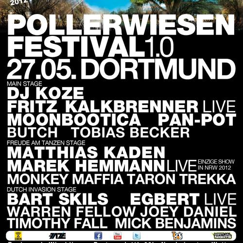 Mick Benjamins @ Pollerwiesen Festival 1.0 - Dortmund 27-05-2012