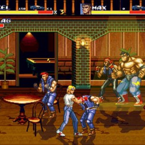 Street of Rage II (In The Bar)