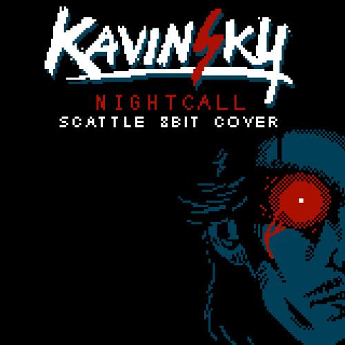 Kavinsky - Nightcall (Scattle 8-bit Cover)