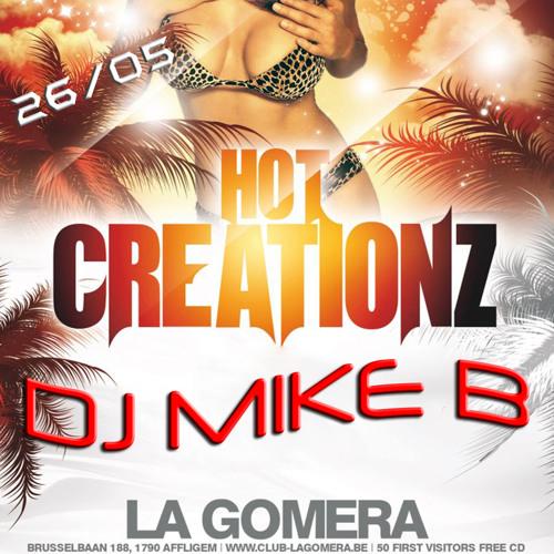Dj Mike B - Hot Creationz @ La Gomera (26-05-2012)