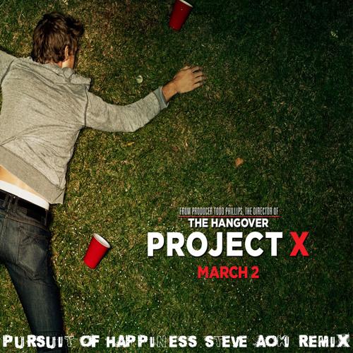 Pursuit of Happiness [Steve Aoki Remix] ProjectX Edit