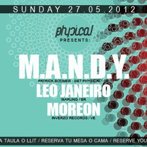 Leo Janeiro Live set at Mac Arena Beach_Barcelona (part1) 27.05.2012