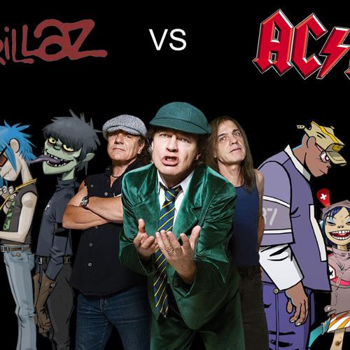 Gorillaz VS AC/DC - Thundergood inc.