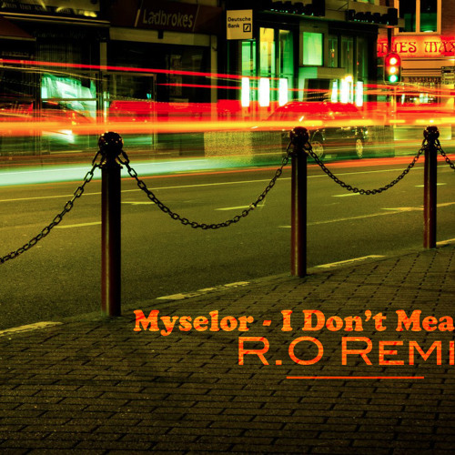 Myselor - It Don't Mean A Thing ( R.O Rerub)