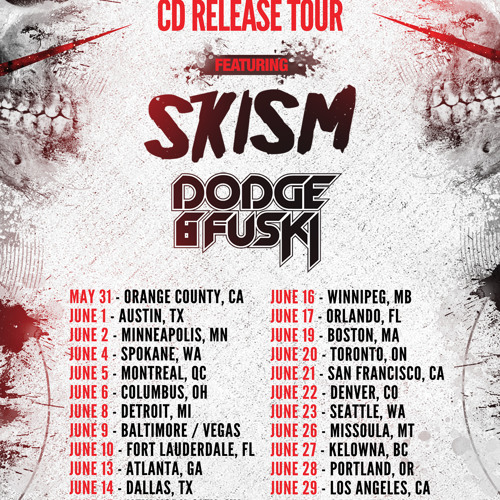Dodge & Fuski Never Say Die Album Tour Mix USA 2012