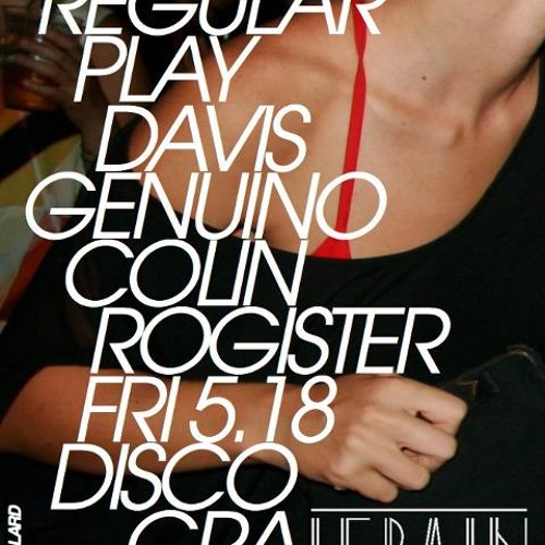 NO REGULAR PLAY at Le Bain for Discography