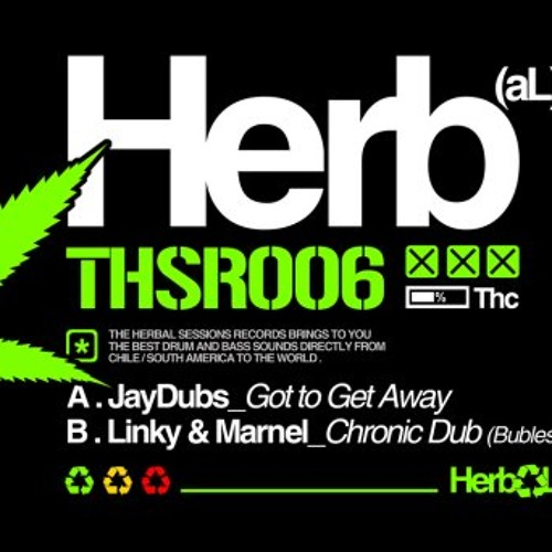 Linky & Marnel _ Chronic dub - release on Herbal Sessions Records