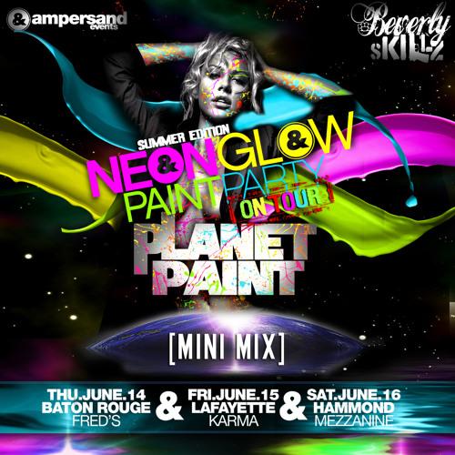 Beverly Skillz- Neon Glow Tour FULL MIX June 2012