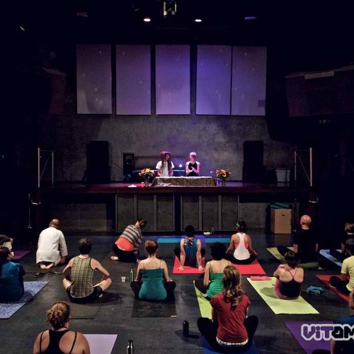 Yoga of Bass - with DJ FreQ Nasty and Claire Thompson