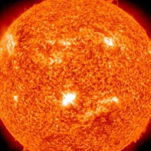 The sun particles