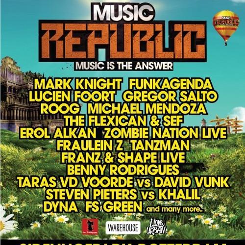 Benny Rodrigues @ Music Republic Festival, Rotterdam (2-6-2012)