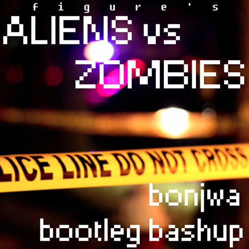 Aliens vs Zombies - Figure (Bonjwa Bootleg Bashup)