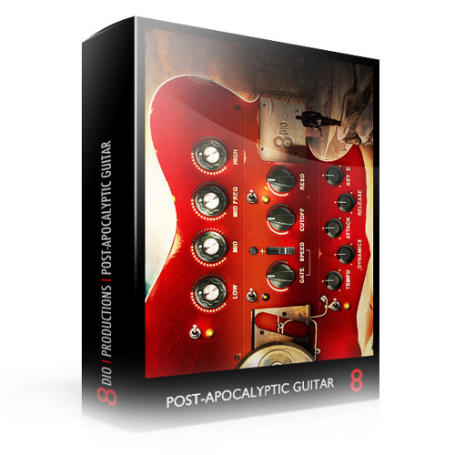"""8Dio Post-Apocalyptic Guitar: """"The Last Man Alive"""" by Kerry Muzzey"""