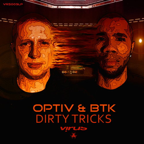 Optiv & BTK - Infested (Dirty Tricks LP - VRS009LP)