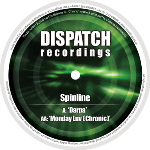 Spinline - Monday luv (Chronic) - Dispatch 59 AA (CLIP) - OUT NOW