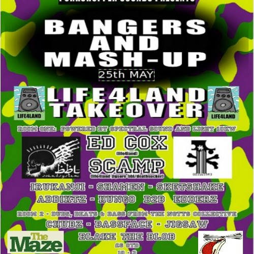 Life4Land Takeover mix. 25th May at The Maze